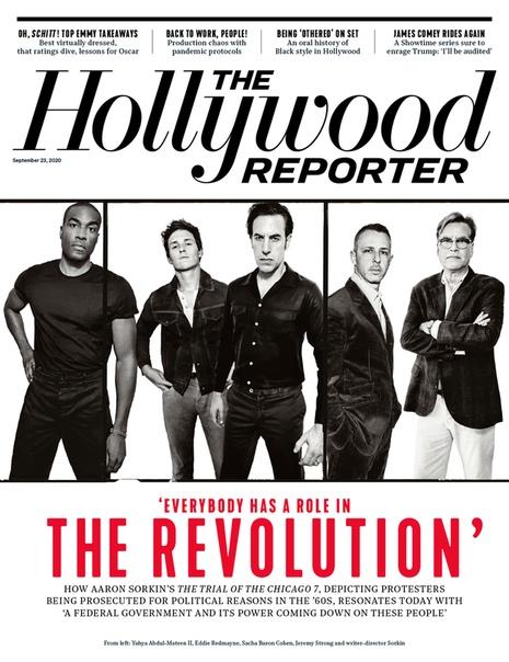 Банда «Дела Чикагской семерки» на обложке свежего выпуска The Hollywood Reporter