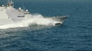 USS Freedom Sports New Paint Gears Up for Deployment