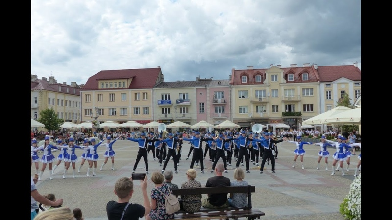 Młodzieżowa Orkiestra Dęta OSP Krasocin Musztra paradna Białystok 2019