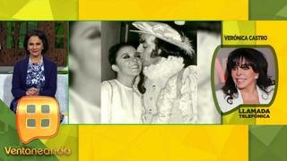 Verónica Castro da el último adiós a 'El Loco' Valdés y recuerda su historia con él. | Ventaneando