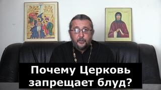 Почему Церковь запрещает блуд? Священник Игорь Сильченков