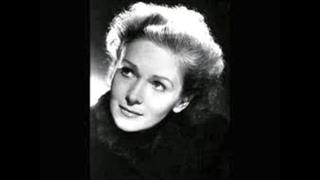 """Elisabeth Schwarzkopf; """"Nachtigallen Arie""""; Hippolyte et Aricie; Jean-Philippe Rameau"""