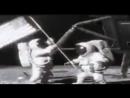 Неудачный дубль установки флага на луне