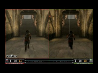 Prince of Persia The Forgotten Sands | PS3 vs XBOX 360 HD 720