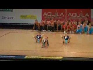 Mistrovství ČR 2009 aerobic exhibice