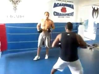 Джуниор Дос Сантос. Ударная Тренировка