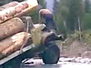 Канал Дискавери Американские лесорубы отдыхают