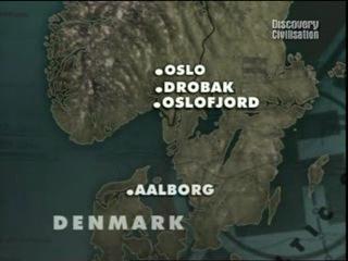 Поля сражений Скандинавия забытый фронт Великобритания Discovery 2005 год часть 2