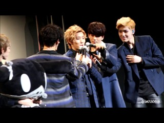 [fan event] 140331 b.a.p @ фанмитинг the first date with baby japan (токио, япония)
