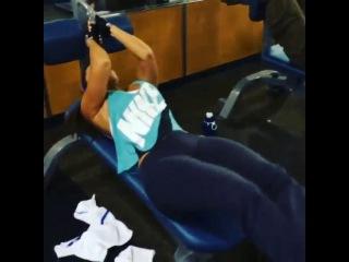 Andrea rincon en el gym