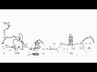 13 Simons Cat in: Hop It (Удирай) 13 серия про кота Саймона