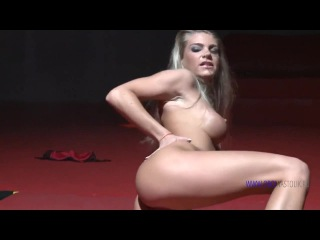 sexy babe stripping video