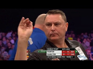 Andy Hamilton vs Kevin Painter (World Grand Prix 2014 / First Round)