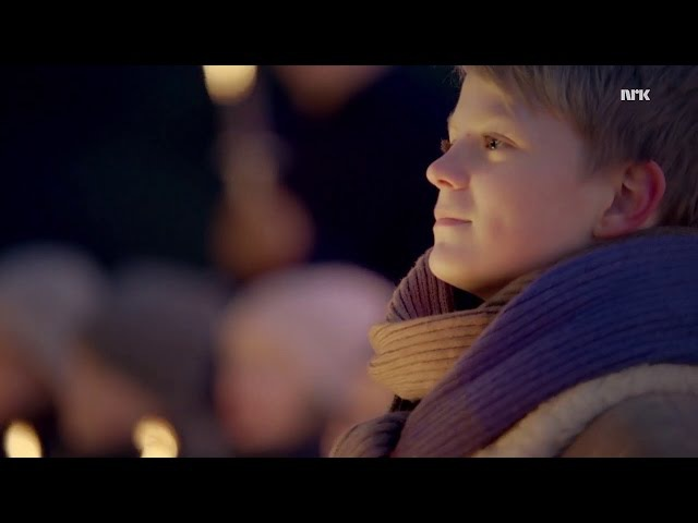 Walking in the air Norwegian boy soprano Aksel Rykkvin 13y