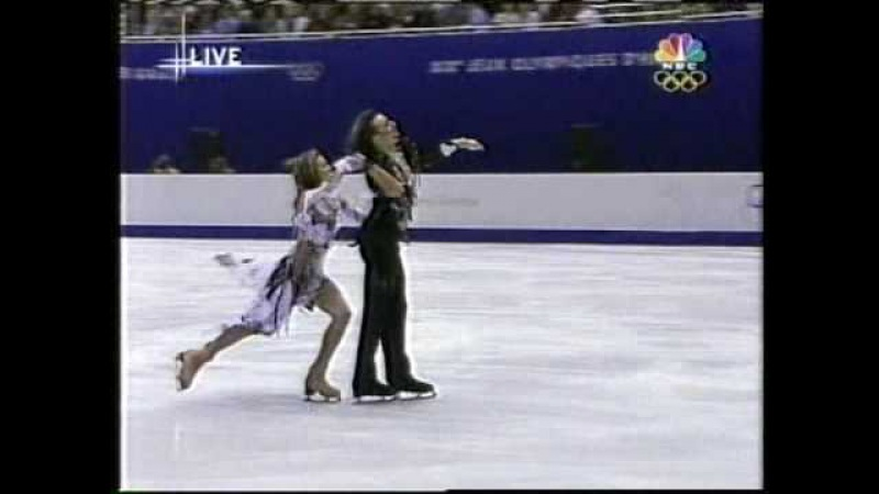 Lobacheva Averbukh RUS 2002 Salt Lake City Ice Dancing Free Dance