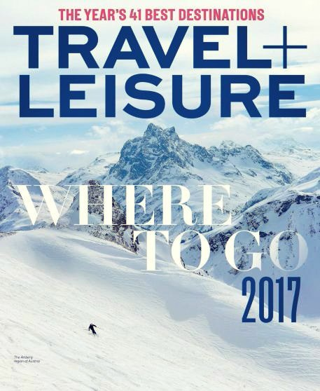 Travel Leisure USA - January 2017