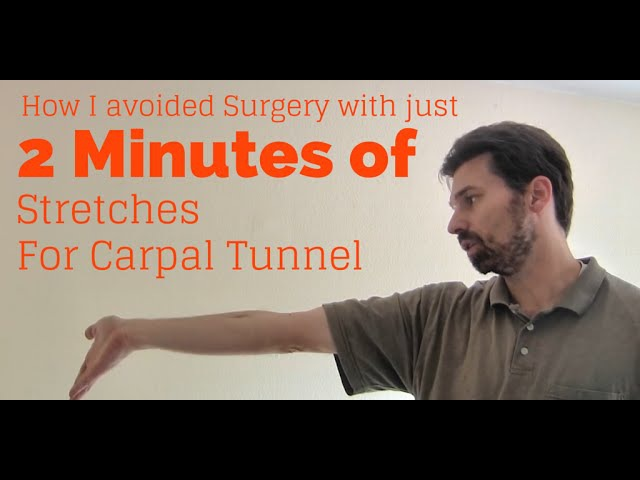 Wrist Exercises for Tendinitis Carpal Tunnel Syndrome Avoid RSI injury in just 2 minutes a day