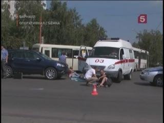 В Барнауле под колесами автомобиля погиб четырехлетний ребенок