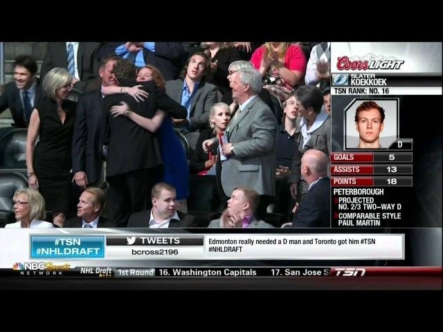 2012 NHL Draft 1st round part 6 Jacob Trouba 9 Slater Koekkoek 10 Filip Forsberg 11