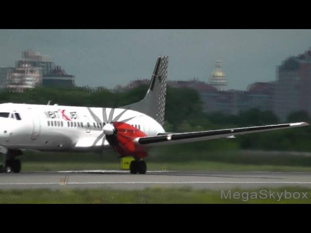 SE MAK BAe ATP British Aerospace NextJet take off at Zhulyany Kiev UKKK IEV