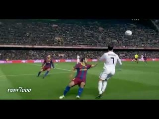 This is what C Ronaldo did do with barcelona HD 2012   YouTube