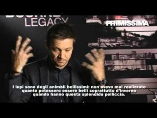 Intervista a Jeremy Renner protagonista di The Bourne Legacy -