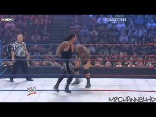 Batista Vs. Rey Mysterio Vs. Undertaker Vs. CM Punk Highlights HD-WWE Bragging Rights 2009