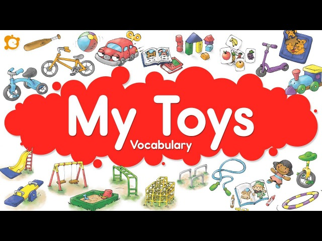 My Toys Vocabulary Chant Inside Outside and Playground TOYS