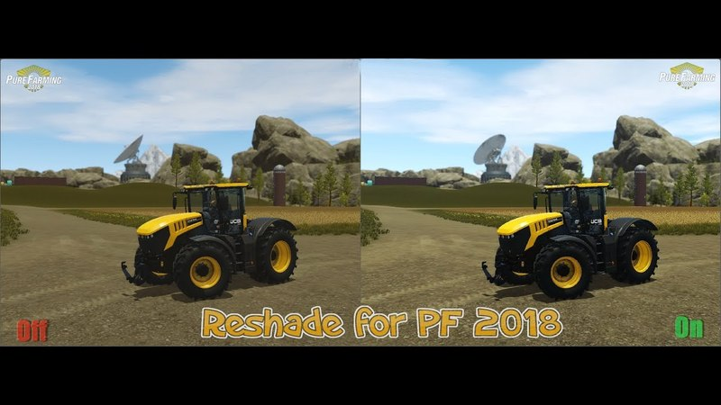 Reshade and SweetFX for PF 2018 Pure Farming 2018