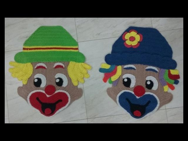 ArtêDaLê Crochê Vídeo Aula Passo a Passo Tapete dos Palhaços Patati e Patatá Parte 3