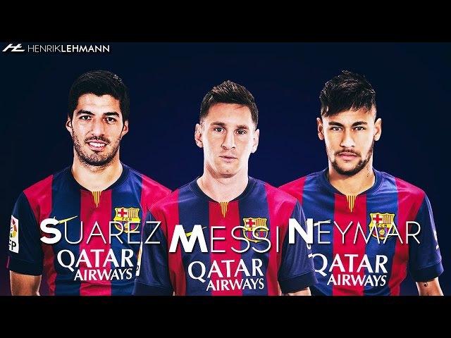 MSN трио Барселоны 2015 Лучшие голы Месси и Неймар и Суарес за 2015 Топ 10 голов трио