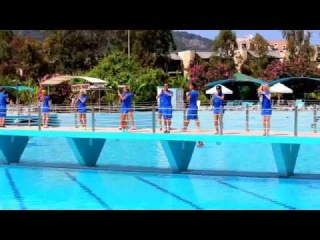 Клубный танец у бассейна в отеле Daima Biz Resort 5*часть 1 Турция,Кемер,Кириш