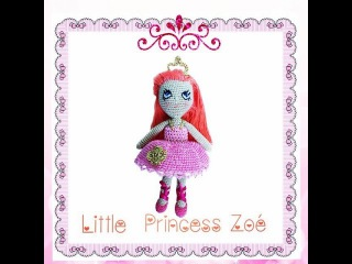 Little Princess Zoé Crochet Doll Tutorial