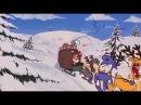 Новогодний мультфильм про деда мороза и пьяного оленя Lava Lava очень смешной мультик