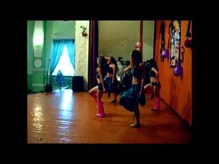 """Школа """"Delta Dance Studio"""" на выступлении в ВЧ от ДТЮ..Предновогодний концерт."""
