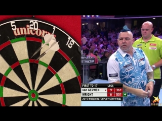 Michael van Gerwen vs Peter Wright (World Matchplay 2015 / Semi Final)