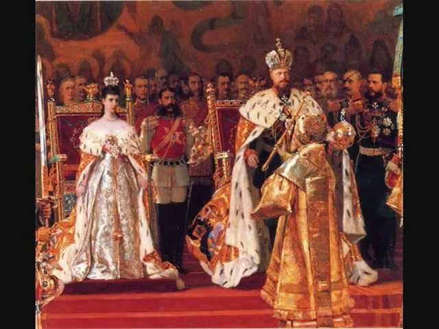 Tchaikovsky 'Solemn March' for Tsar Alexander III's Coronation Ovchinnikov conducts