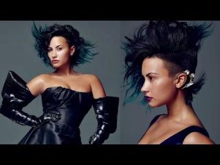 Demi Lovato Futuristic Babe in ALLURE Magazine