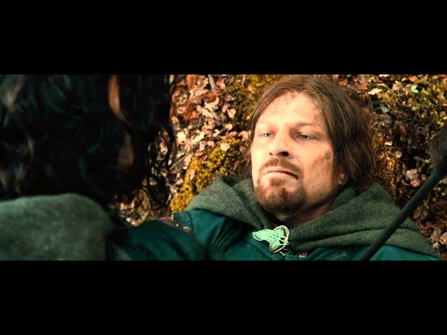 LOTR The Fellowship of the Ring Extended Edition The Departure of Boromir