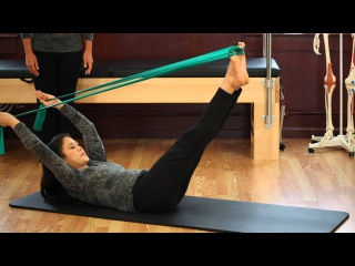Upside-Down Pilates - Resistance Band - Lesson 56 - Full 30 Minute Pilates Workout - HD