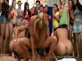 College coeds fuck real pornstar Rachel Starr, Jamie Valenti ★