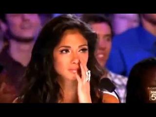 La audicin ms emocionante de 'X Factor' - su talento para el canto es increble.