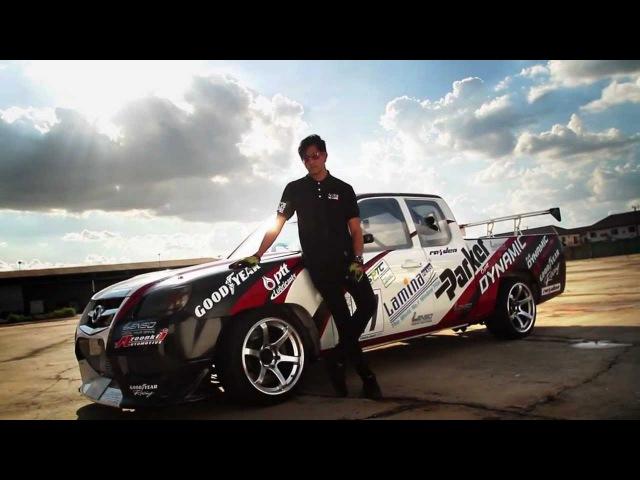 RT Adventure Drift show By LENSO Wheel ล้อแม็ก เลนโซ่ วีล