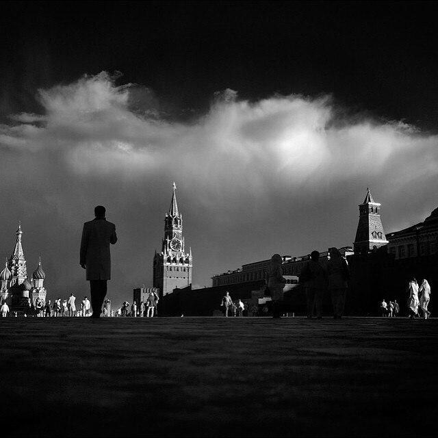 Москва картинки черно-белые