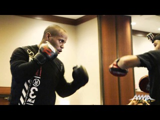 UFC 192 Workout Highlights