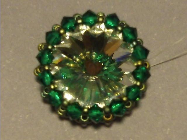 Sidonia's handmade jewelry How to bezel a 16mm rivoli