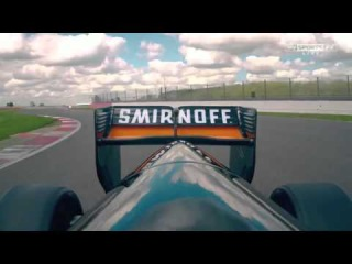 MARTIN BRUNDLE TESTS FORCE INDIA VJM08 [HD]