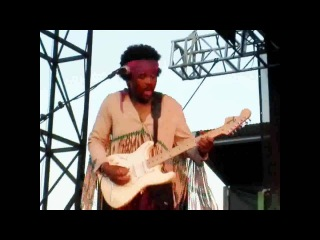 Jimi Hendrix Voodoo Child by tribute AXiS - Live at Woodstock 40th Anniversary tribute