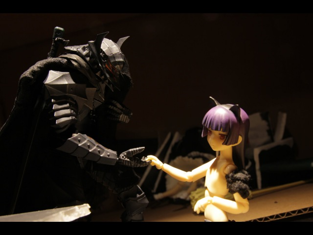 The Wolf and the Kitty Figma Stop Motion Feat Guts and Kuroneko