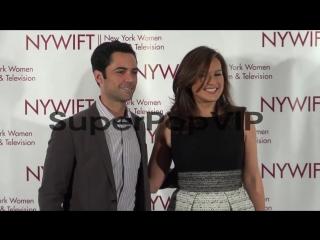 Danny Pino and Mariska Hargitay at the New York Women